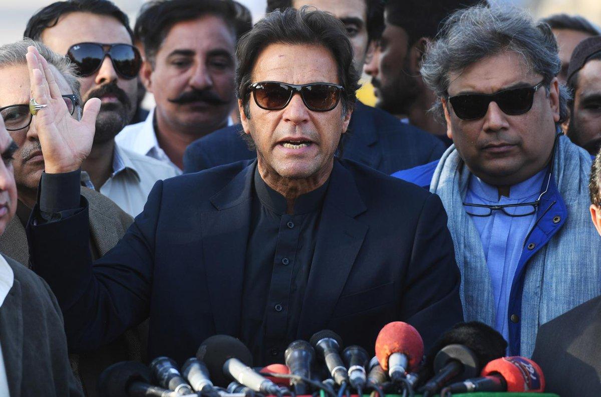 "Trump is ""ignorant and ungrateful,"" says Pakistan's Imran Khan"