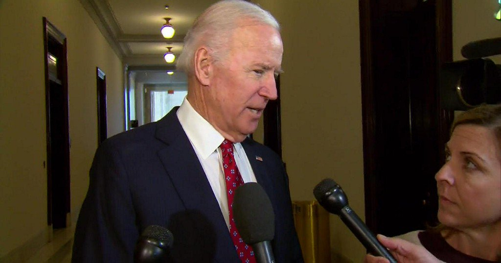 Former Vice President Joe Biden weighs in on Trump tweets, Steve Bannon