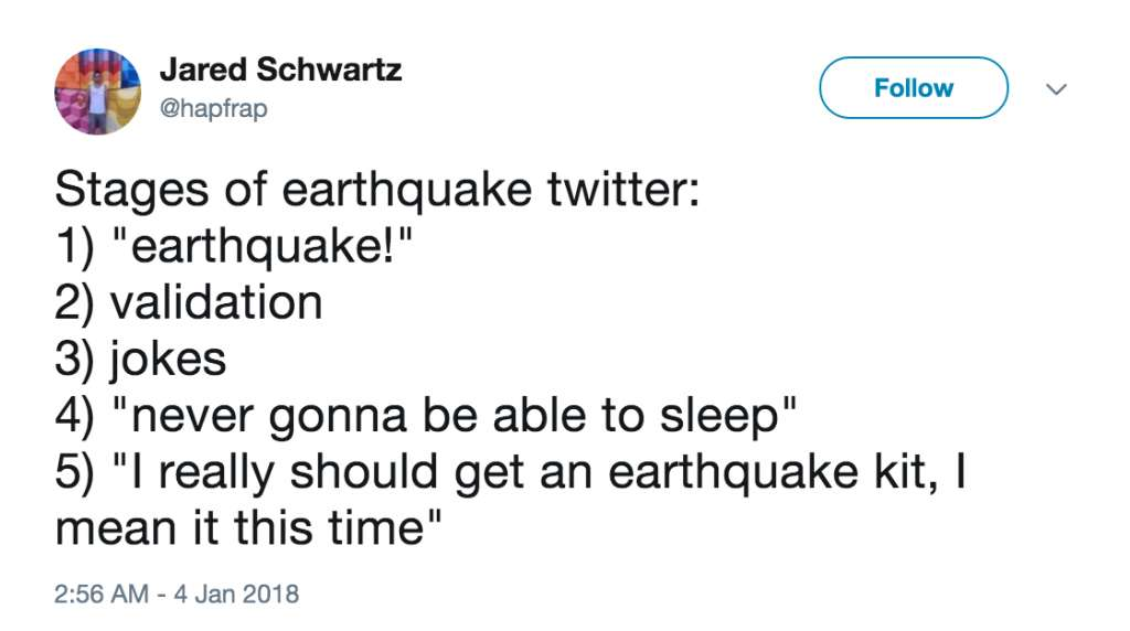 earthquake twitter is the best twitter https t co dnhiagpypd