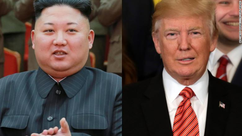 President Donald Trump takes credit for recent talks between North and South Korea