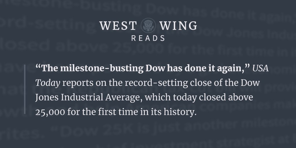 Check out tonight's edition of West Wing Reads: https://t.co/Fd0K9e8Fb2 https://t.co/rKj8FkzwUA