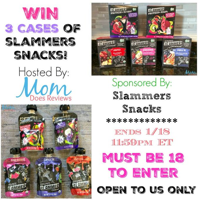 Slammers Snacks GA (3 cases)-1-US Ends 1/18