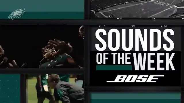 .@Bose Sounds of the Week tells the story of the #Eagles 13-3 regular season.  #FlyEaglesFly https://t.co/JMPYHiAbqG