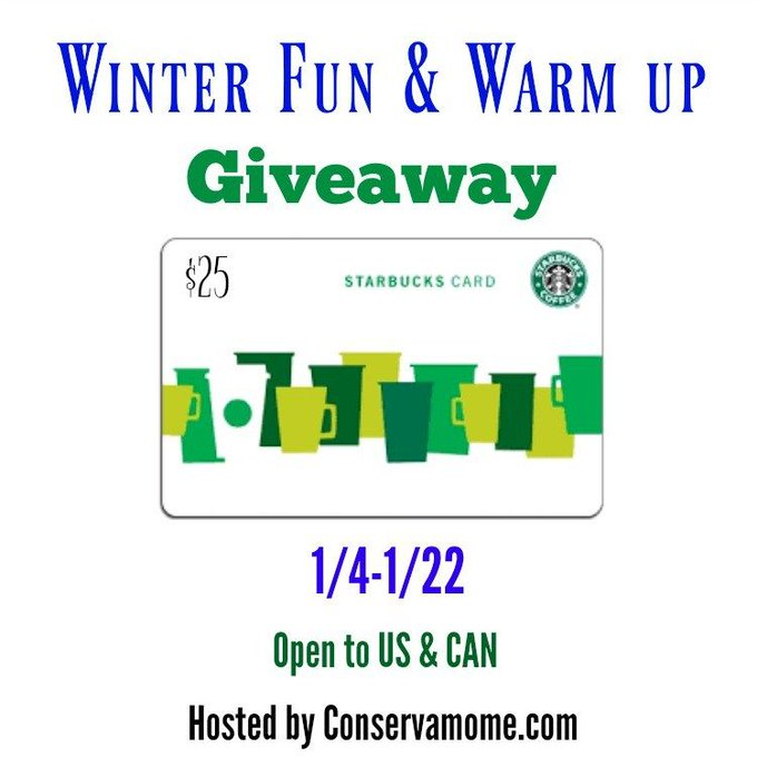 Winter Fun & Warm Up Starbucks Giveaway