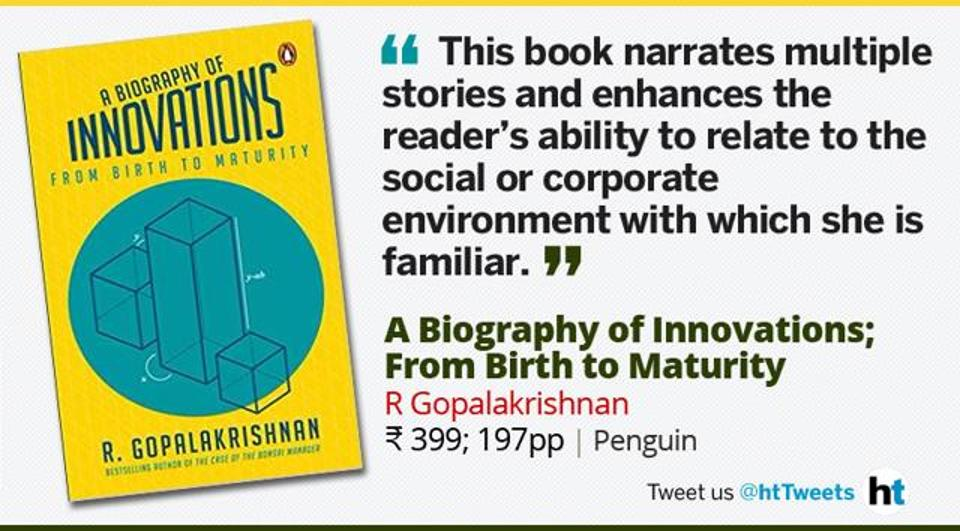 Review:A Biography of Innovations by R Gopalakrishnan
