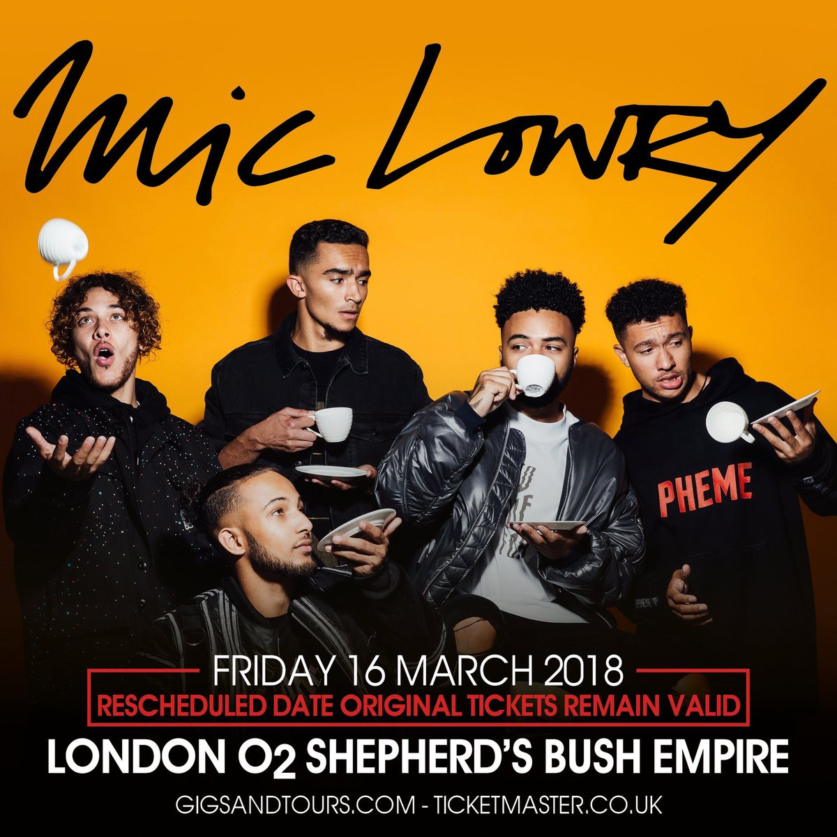 16th of March 🙌🏽 cannot wait to see my favs ❤️👌🏽 who's coming?? KToj53qs