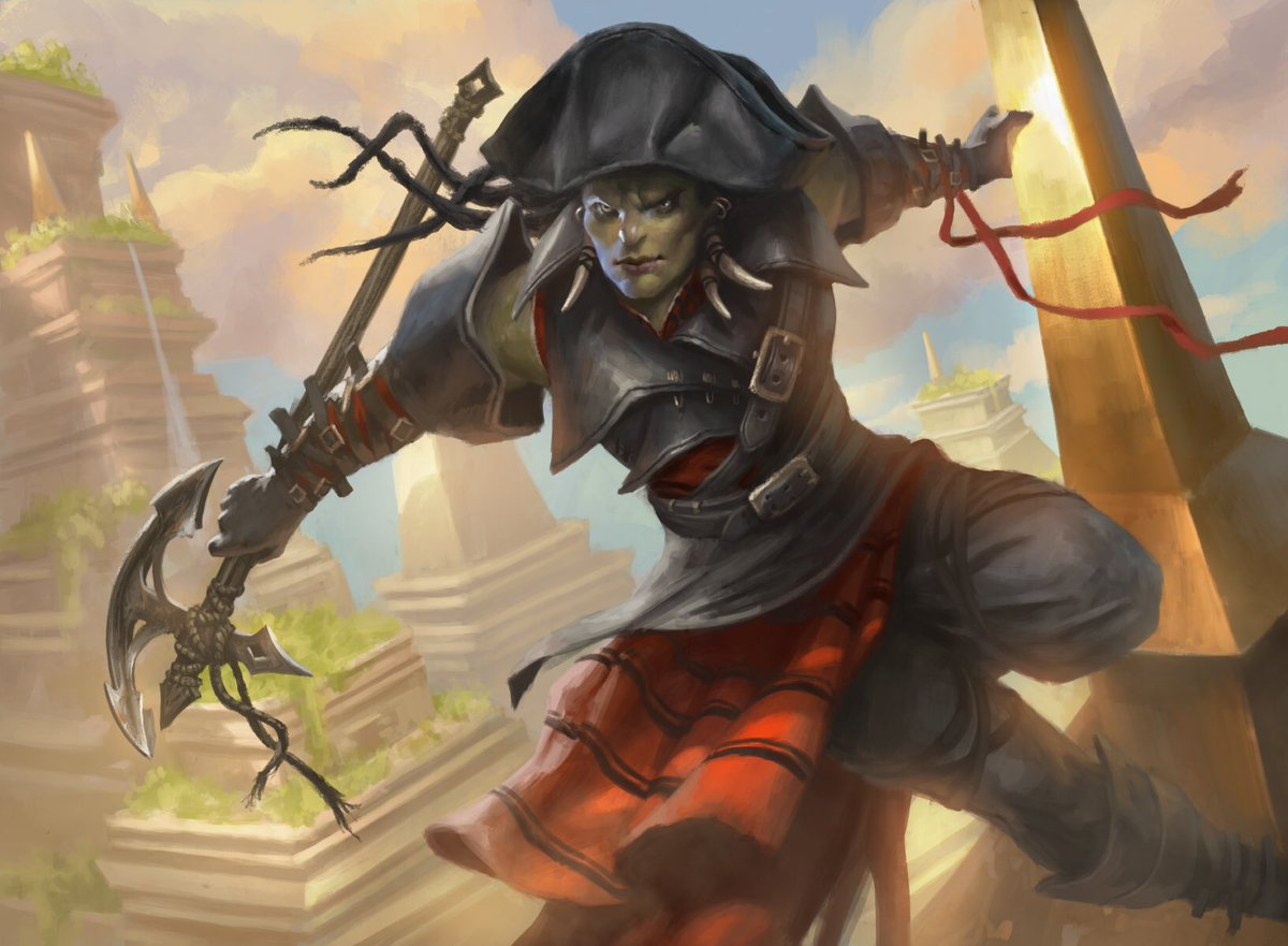test Twitter Media - Dire Fleet Neckbreaker from Magic: The Gathering - Rivals of Ixalan #MTGRIX https://t.co/pgrpIZaIKg