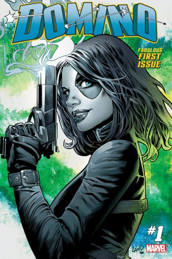 .@Marvel is launching a Domino comic ahead of