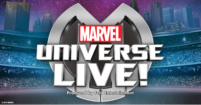 Marvel Universe LIVE! is coming to town