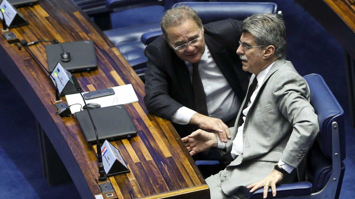 Renan e Jucá