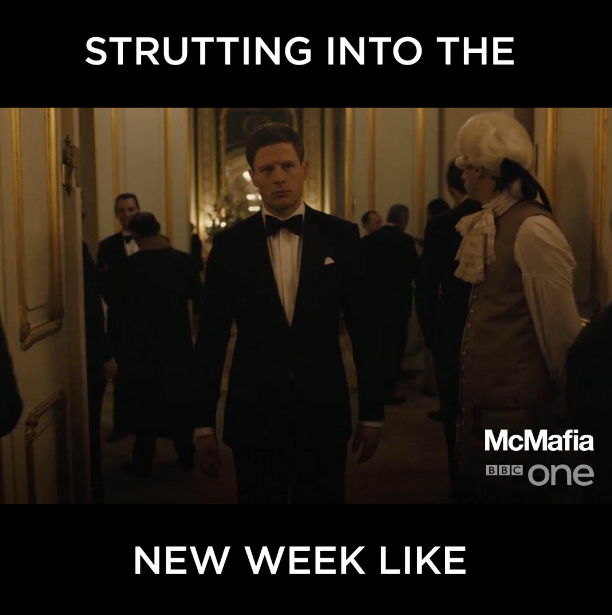 Own it. #McMafia https://t.co/1xUX8QBjPv