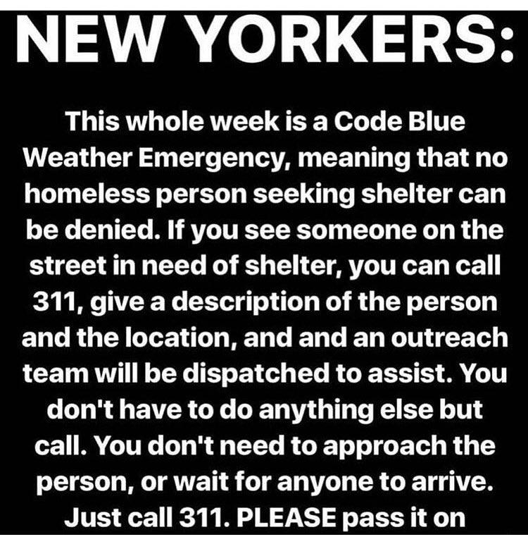 RT @Sarah_Hyland: URGENT! ALL NEW YORKERS. https://t.co/OhrLOYKs61