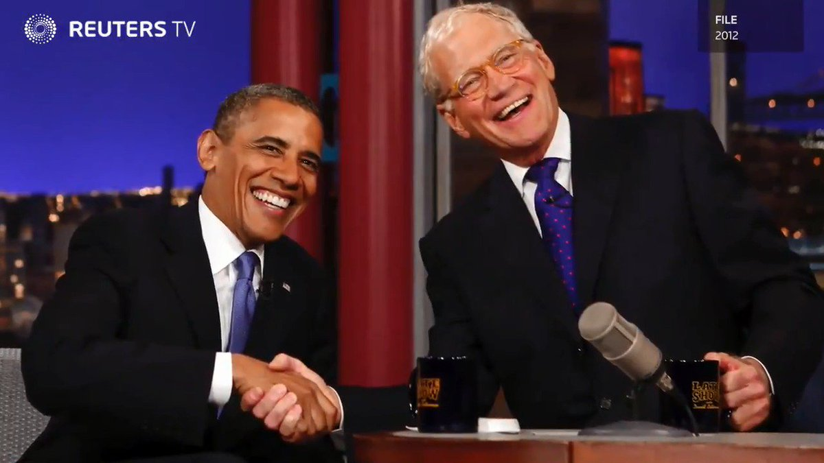 WATCH: Letterman lands Obama for the first episode of his new Netflix show. Read more: