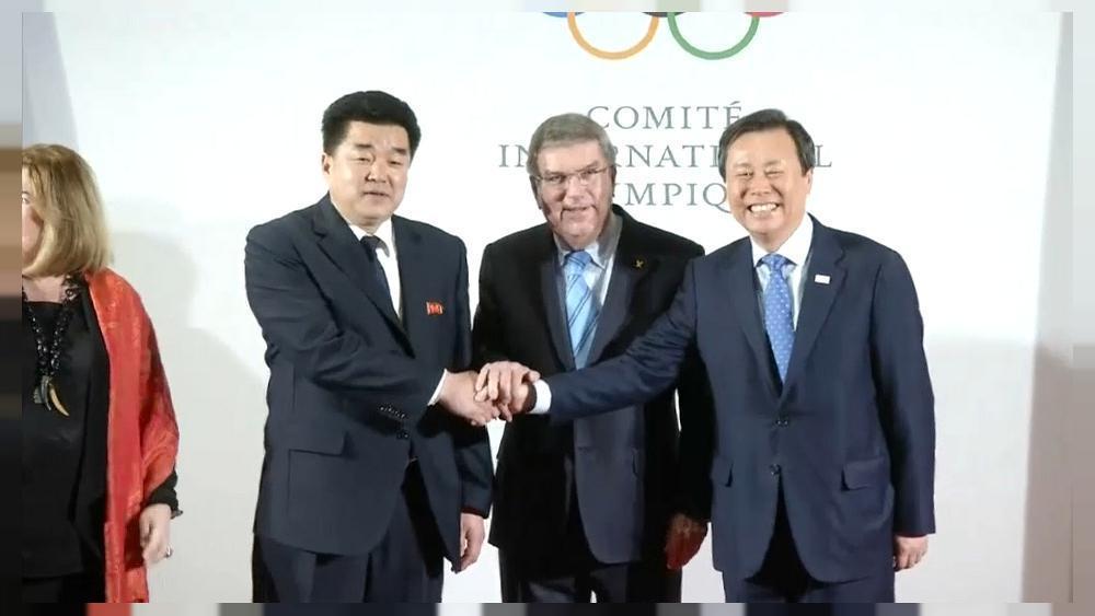 Talks begin at IOC headquarters over North Korea's participation at the Winter Olympics