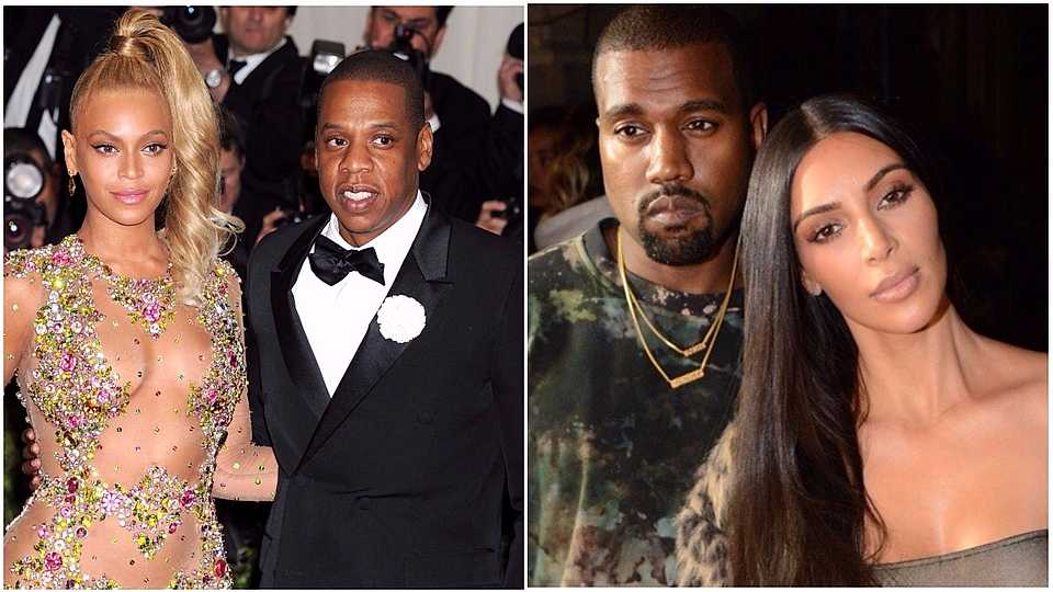 WOWZA! Beyonce and Jay-Z have splashed their cash on Kim and Kayne's baby