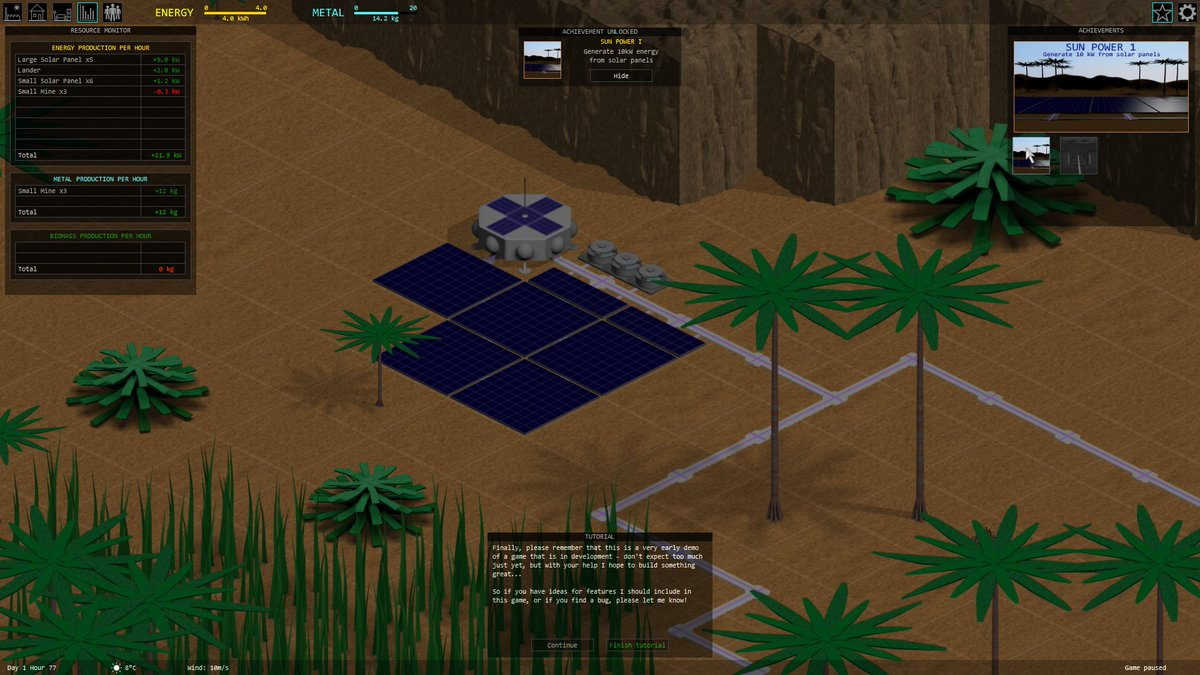 test Twitter Media - Sigma Draconis #devlog 2018 Week 3  Tutorial for first demo: Done Unlockable achievements for first demo: In progress (2/8 done)  #screenshotsaturday #indiedev #monogame #strategygame #indiegame https://t.co/tIzAMOTXWB