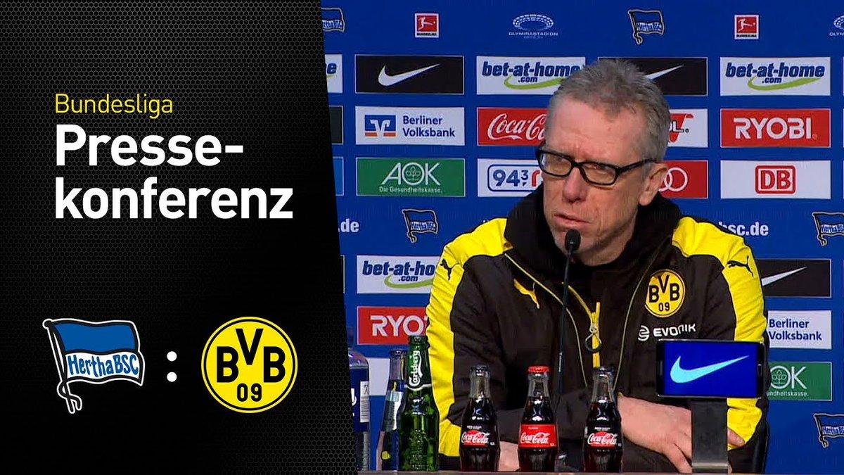 💬 Die Pressekonferenz mit Peter Stöger nach dem Bundesliga-Spiel #bscbvb: https://t.co/zUThehSZur https://t.co/gUiFxjsv3b