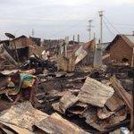 Fire razes down Obunga market in Kisumu