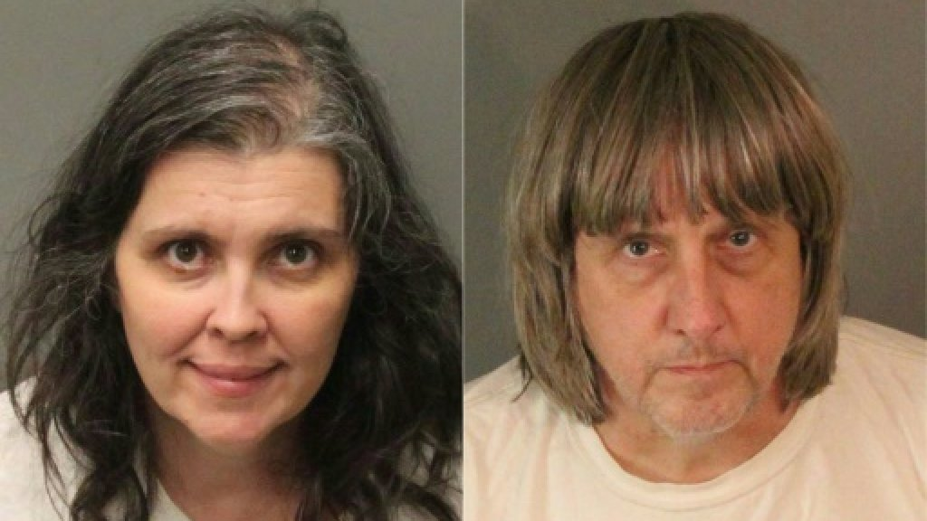 California couple who held 13 children captive due in court