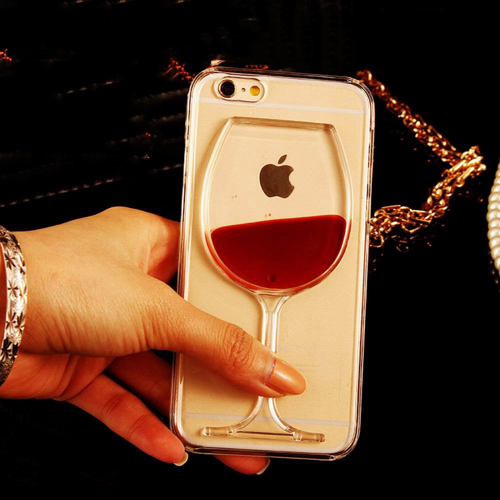 Liquid Red Wine Glass iPhone Case $7.99 and FREE SHIPPING Re-tweet if yo...