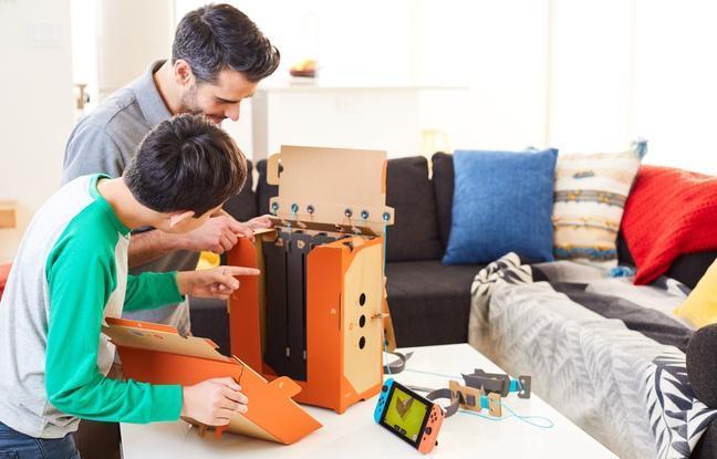 Avec «Nintendo Labo», Nintendo invente le Mecano 2.0