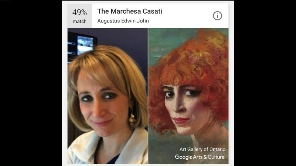 Google art app matches selfies with famouspaintings