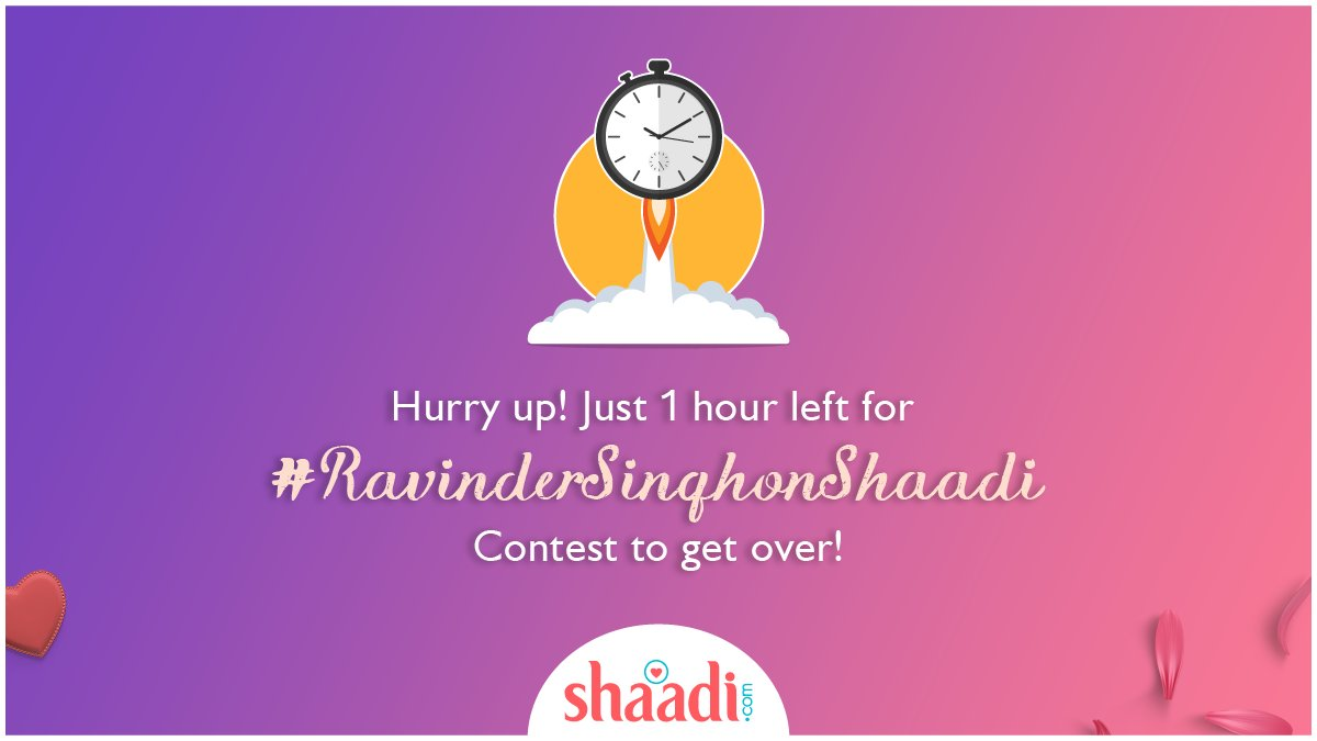 test Twitter Media - You've got just one hour to win #motog5splus & #Kindle Paperwhite   Keep tweeting your answers & RT to win #RavinderSinghonShaadi contest.    Waste no time!  PS: If you give us 100 retweets on this tweet, we might extend the contest for an hour! #ContestAlert #ContestIndia https://t.co/Jhxz8RDplB