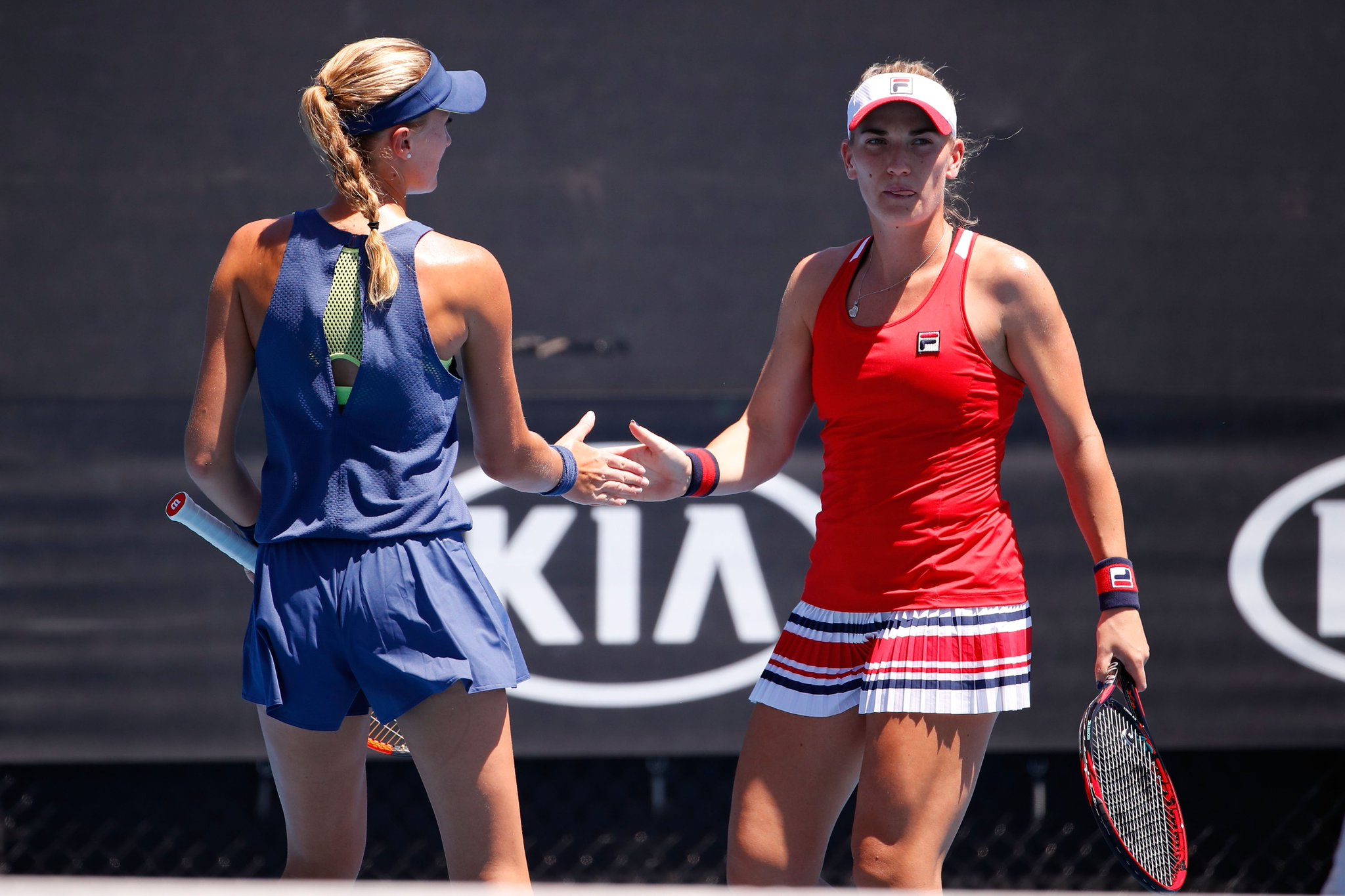 .@KikiMladenovic and @TimeaBabos kick off #AusOpen doubles campaign with a win!  Round-up--> https://t.co/UMuMB9fhsn https://t.co/5GI2vmyHyQ