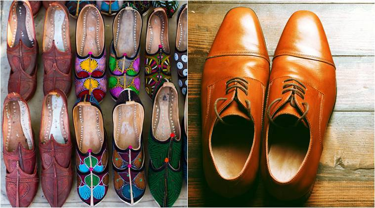 Men can ditch the jutti and opt for brogues for their wedding