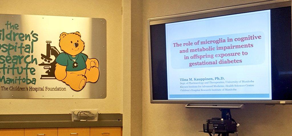 test Twitter Media - @TiinaTmk on microglia and #metabolic and #congitive impairments after exposure to #gestationaldiabetes #pharmacology @CHRIManitoba https://t.co/SkjHiGVXNC