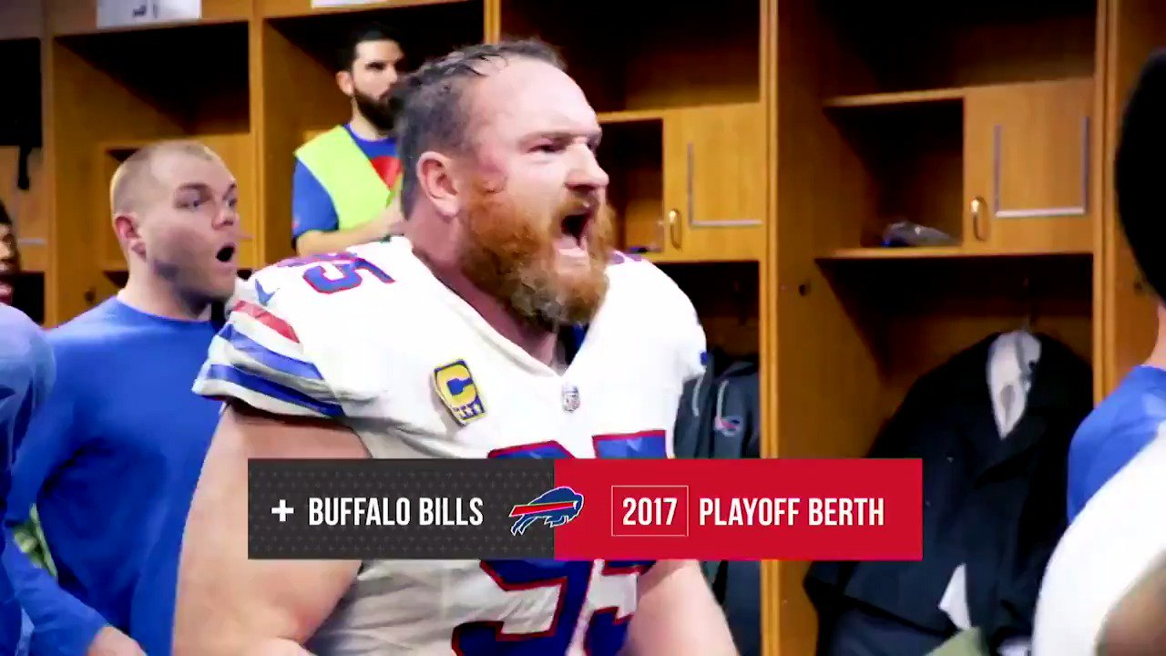 6-2 record at home, 3 Pro Bowlers, and a playoff appearance.  It's safe to say we won't forget this season. #GoBills https://t.co/El9mHpbF0O