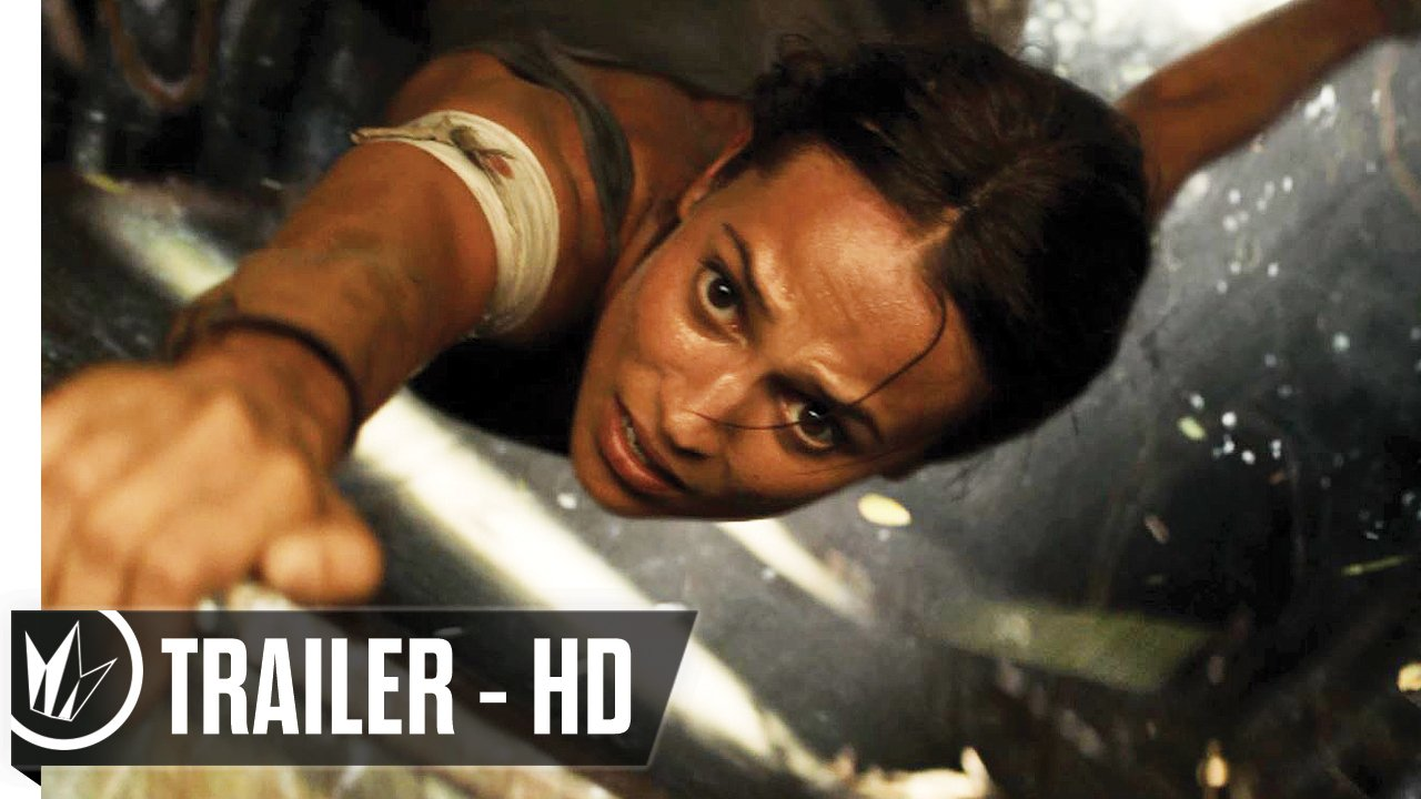 Her legend begins. Watch the newest trailer for #TombRaider now! https://t.co/OZuAeztMII