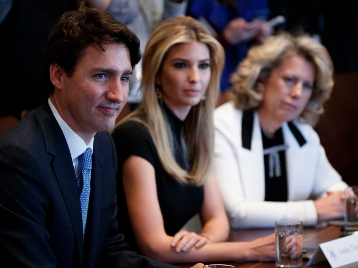 Joint Trudeau, Trump women-in-business group issues its first set of