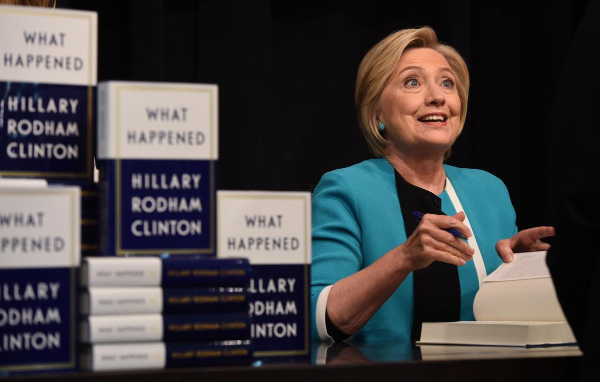 Hillary Clinton could still become president if Russia probe finds conspiracy evidence