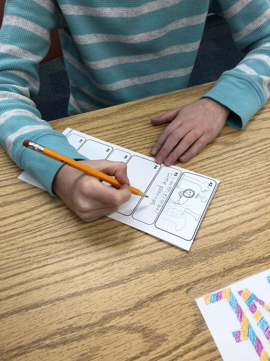 test Twitter Media - 4th gr doing one of my fave act from @MartinaBex love that they have to rd & interpret then interpret drawings #langchat #earlylang #d30learns https://t.co/wSuP0T3wAr