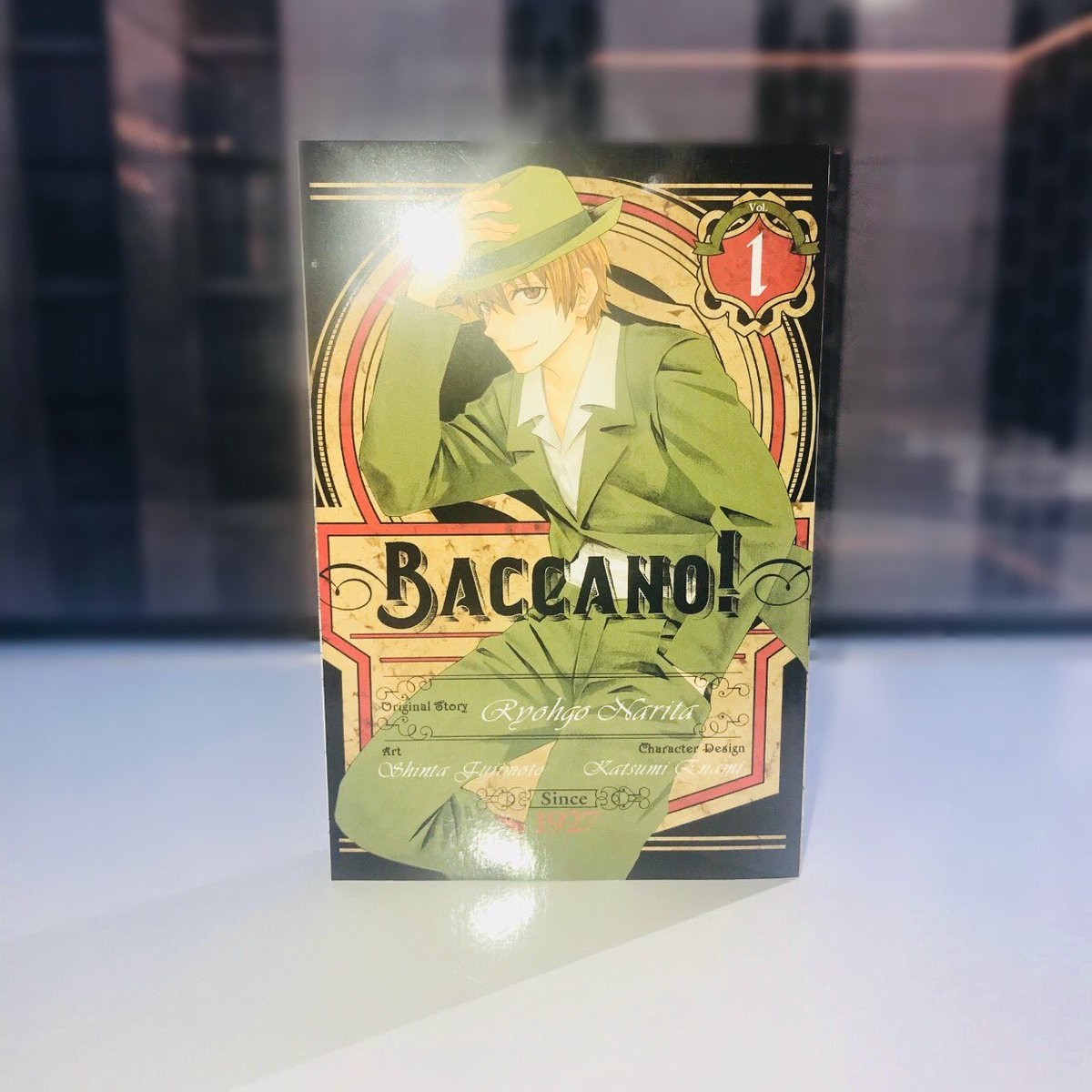 test Twitter Media - ✨ Get a taste of old New York City with gangsters and big ambitions in the new Baccano! volume!  Baccano!, Vol. 1 (manga) releases on January 30th! Pre-orders available now 🍺🎲 https://t.co/x3Xnaqergs