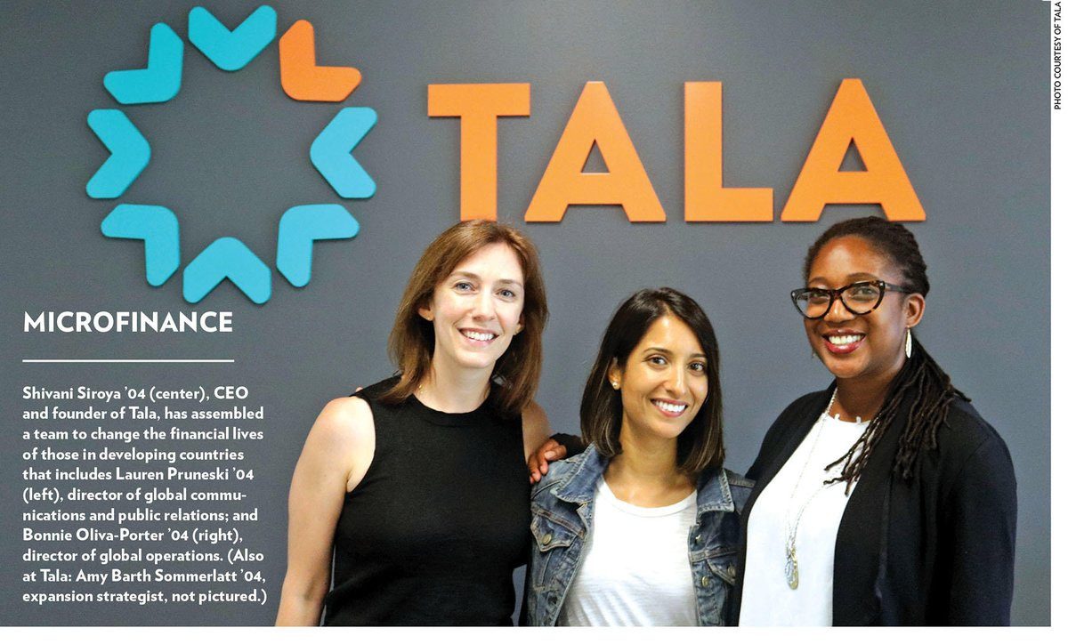 "test Twitter Media - .@shivsiroya '04 launched @talamobile to change the way credit scoring and financial services work around the world. ""The lack of credit for billions of people in the world's emerging middle class is a huge problem,"" she says. Read more: https://t.co/3s01rB1Ary https://t.co/Df4RZ79Gc2"