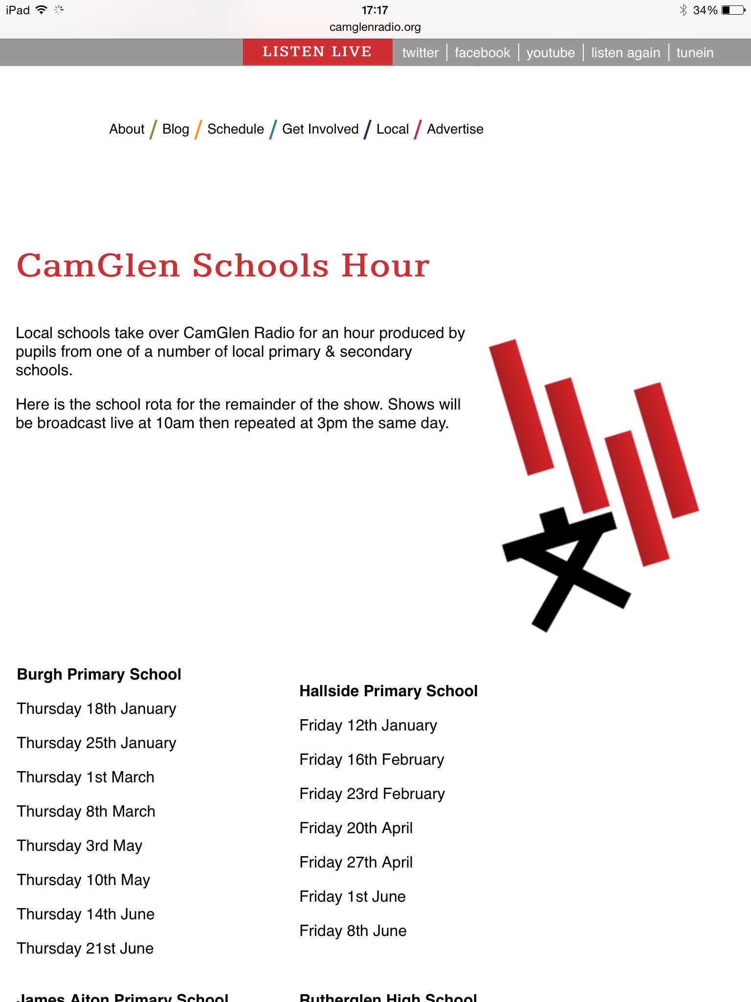 Our Camglen Radio Show is back tomorrow (19/1) at 10am. Listen live at 107.9fm or online at https://t.co/wKegaIiMb0 https://t.co/nxQj0f4plT