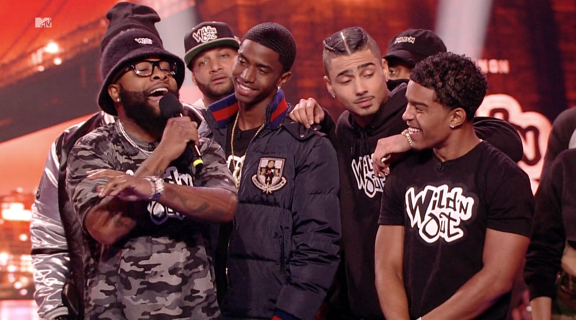 The Combs brothers are joining the @WildNOut crew tonight at 11/10c: https://t.co/ghzlFm0JOm https://t.co/6jckQz3t39