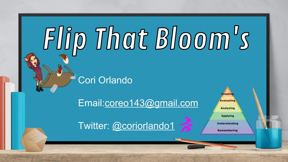 "Looking forward to presenting ""Flip That Bloom's""  https://t.co/LXI1zWlNzo @ #cuela https://t.co/CGasykAm3S"