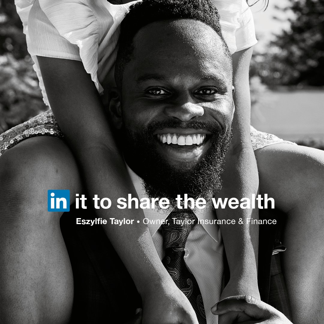 Eszylfie Taylor turned his past sales experience into a lesson in life. The more he gives people, the more he gets back. He's in it to share the wealth. https://t.co/UNiC2JJiF1 #InItTogether https://t.co/5WyqE4ij1l
