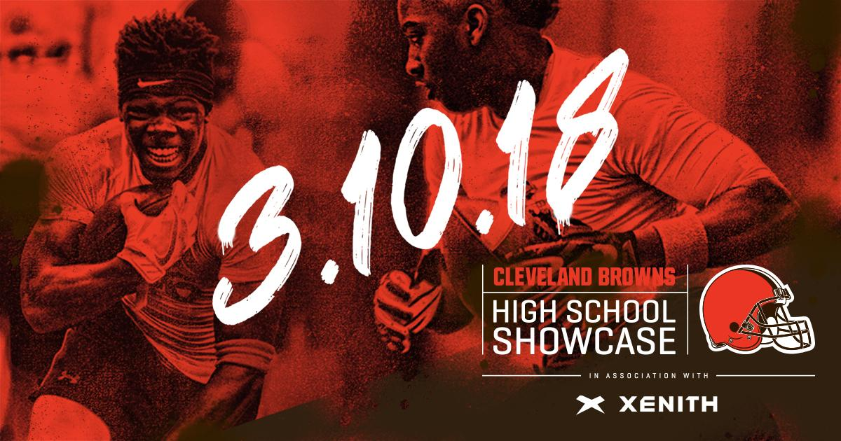 ☑️ Combine-style testing ☑️ Over 100 Division II, III and NAIA colleges ☑️ NCAA reps on hand to speak to parents  Register for our @BrownsYouthFB High School Showcase » https://t.co/WxYw6Yk4Ig https://t.co/2VE1bro1NV