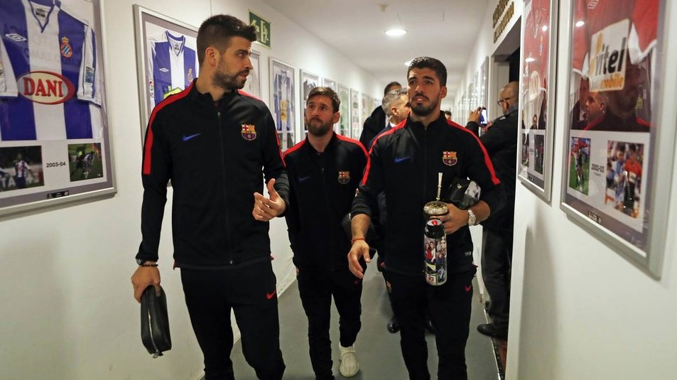 �� The other side of Espanyol-Barça  ���� #CopaBarça #ForçaBarça https://t.co/UKCDtIBEye