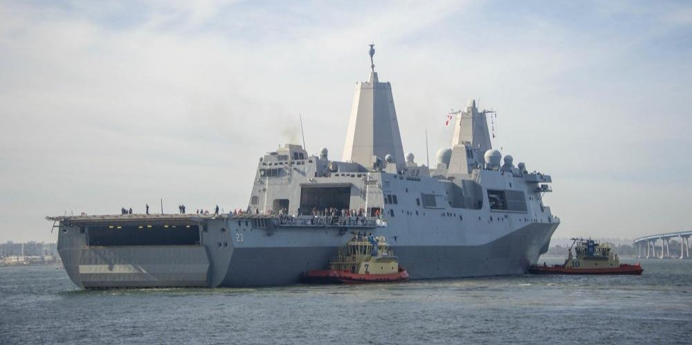 #USSAnchorage underway for @NASA's @NASA_Orion mission - https://t.co/R18z3811nF https://t.co/TW9nWmLGkp
