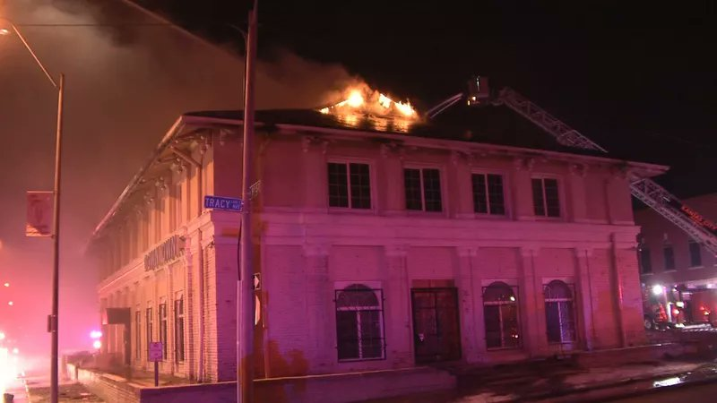 test Twitter Media - Fire rips through historic Kansas City Fountain Theater: https://t.co/gSixeqb0uN https://t.co/9Gnlfd4ZJo