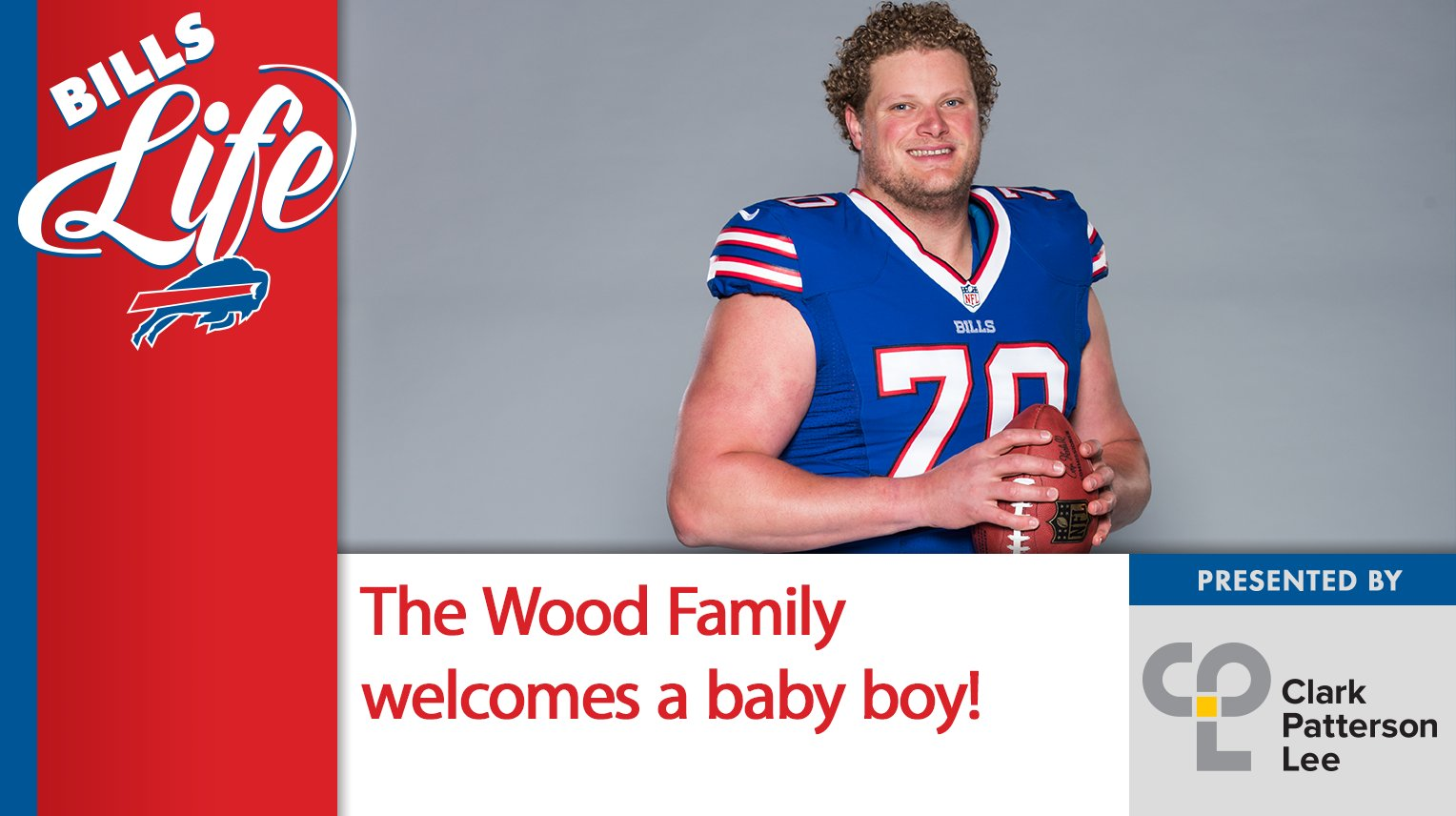 Congratulations to Eric Wood and his family on the birth of their baby boy!  Bills Life: https://t.co/7wK4gbMue1 https://t.co/L2MYFT2bN7