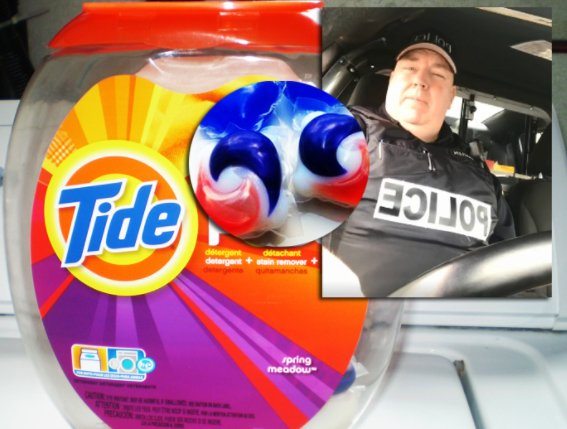 Cop to kids: Eat Timbits, not Tide pods