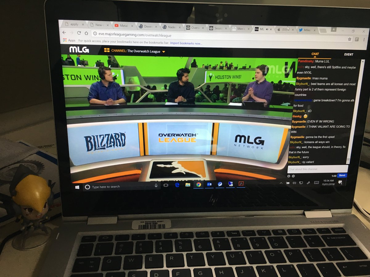 Shoutout to all the APAC Overwatch fans watching the League from work.  #OverwatchLeague https://t.co/ntxdlHmijc