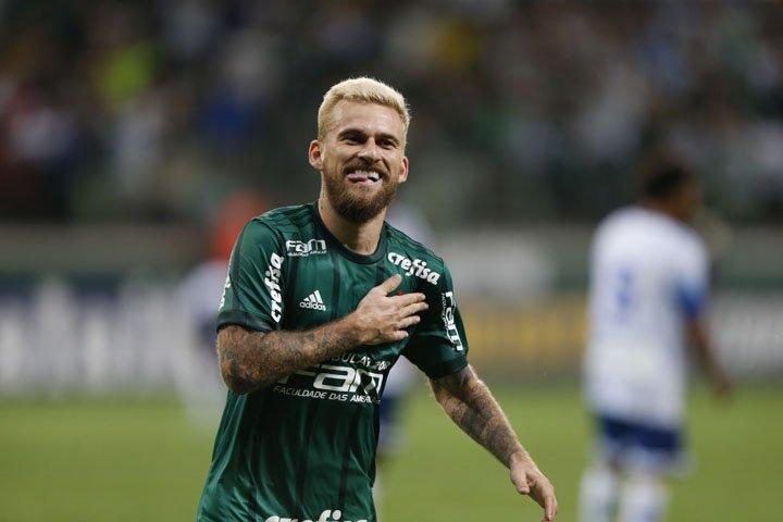 @BroadcastImagem: Lucas Lima marca e Palmeiras ganha do Santo André por 3 a 1 na estreia. Alex Silva/Estadão
