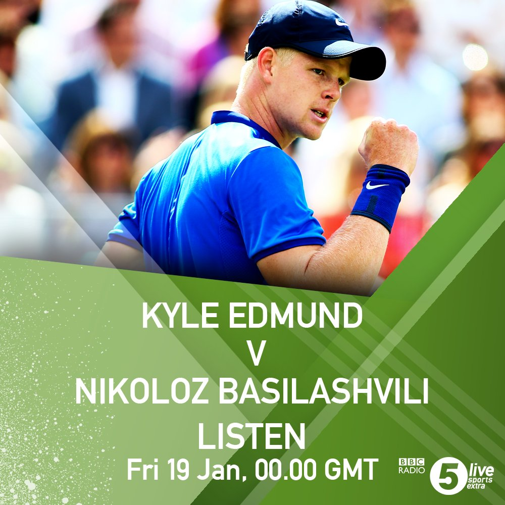 THIS IS YOUR 15 MINUTE WARNING  Kyle Edmund is back in action at the #AusOpen   Listen ����https://t.co/krVejTzs5V https://t.co/uisENe23KN